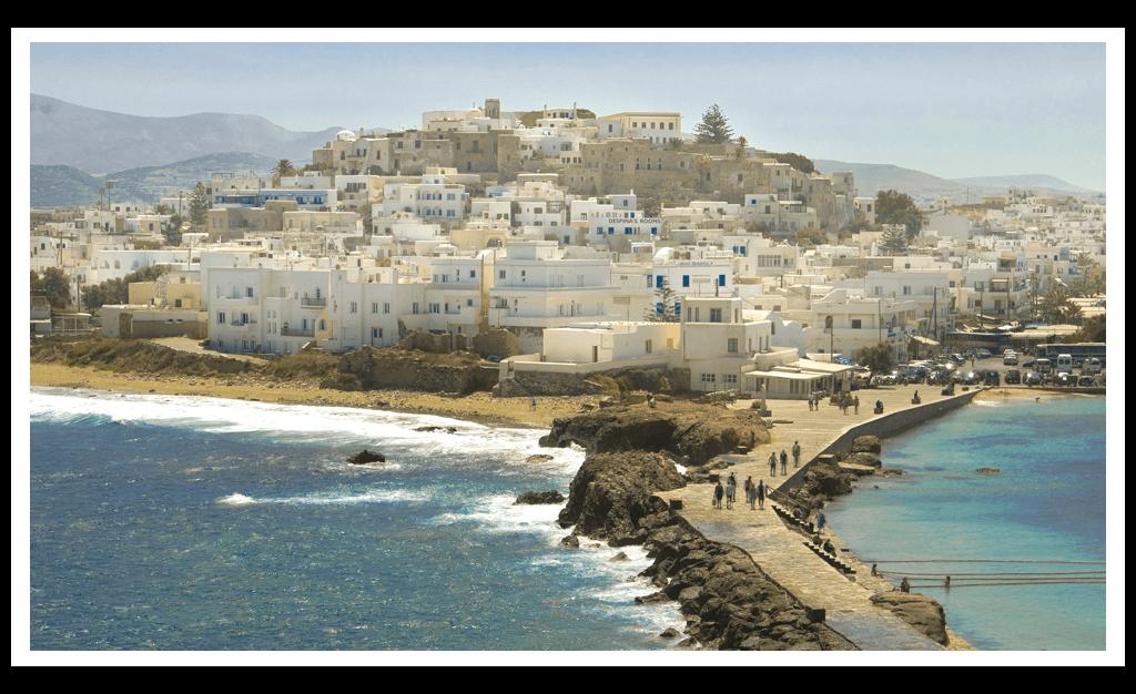 City front Rent a Car Naxos